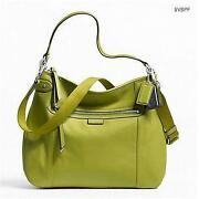 Coach Green Leather