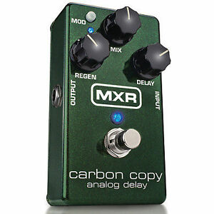MXR Carbon Copy Delay NEUF !!!!!!