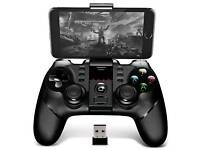 Ipega game controller wireless Bluetooth + dongle for PC android and ps3 compatible