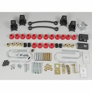 Suspension Lift Kit Components - Wrangler YJ 87-95 (PCO55089B)