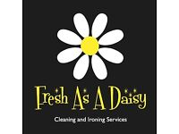 Fresh As A Daisy Cleaning and Ironing Services. Bespoke, professional, reliable