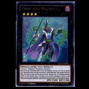 3x Timestar Magician 1st Edition Ultra Rare PEVO-EN009 Yu-Gi-Oh!