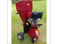 Titan Pro 15HP petrol chipper used for one job
