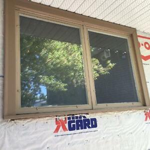"Wood Framed Window (Awning one side) R.O. W-65 1/8""  X H-41 3/4"""