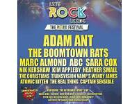 3 x Tickets for Let's Rock Leeds Ultimate 80's Festival