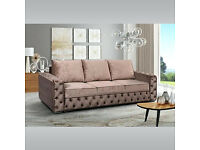 30 DAYS MONEY BACK GUARANTEED - LUXURIOUS BRAND NEW MARILYN SOFA BED