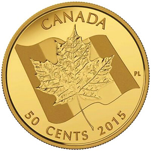 2015 MAPLE LEAF GOLD COIN - CANADA