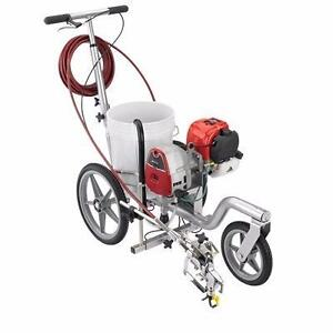 NEW TITAN POWRLINER 550 PARKING LOT LINE STRIPING PAINTING MACHINE PAINTER STREET GRACO STRIPER PAINT SPRAYER WATER
