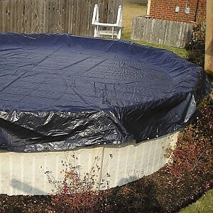Pool cover 27 feet - Couvre piscine 27 pieds