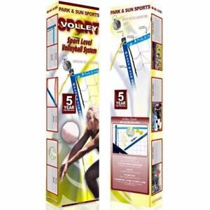 Park and Sun Sport Volleyball Set New in box end of season sale Free Shipping Volley Ball 5 year warranty
