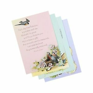 DaySpring Birthday Boxed Greeting Cards 12 Count With Embossed Envelopes