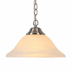 Pendant Light with Frosted Glass Shade