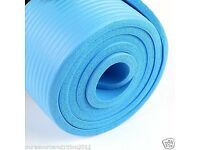 Yoga Mat 15mm Thick (Blue)