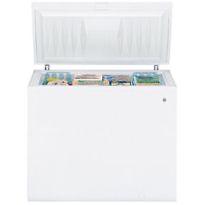 GE White 8.8 cu.ft. Chest Freezer Energy Star Highly Rated