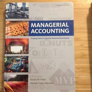Managerial Accounting Second Canadian Edition