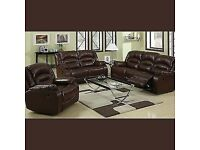 💖🎉Don't wait..! Order Now - Sale on CHICAGO RECLINER BROWN SOFA AVAILABLE With fast delivery🎉💝