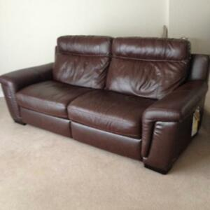 Luxury Genuine Leather reclining couch NEW London Ontario image 7