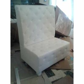 Laura - Two or three seater custom bar sofas. Made of eco-leather, fabric, woven fabric,