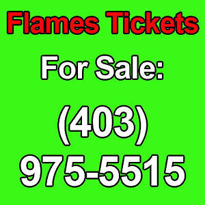 2 or 4 FLAMES v CANUCKS COYOTES JETS ALL GAMES  2nd Level CHEAP