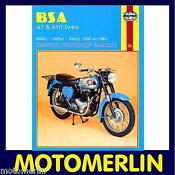 BSA A10 Motorcycle
