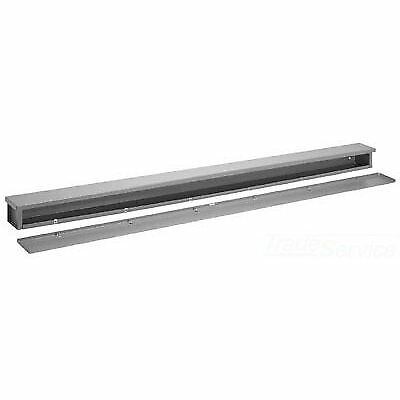 "Hoffman A121248RT Wire Trough, Galvanized 12"" x 12"" x 48"""