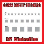 Glass Safety Stickers