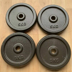 Brand new boxed cast iron gym weights