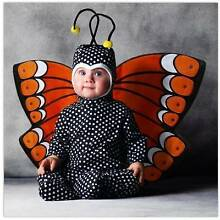 Brand new Tom Arma monarch butterfly baby costume 18mnth -2 years Hammond Park Cockburn Area Preview