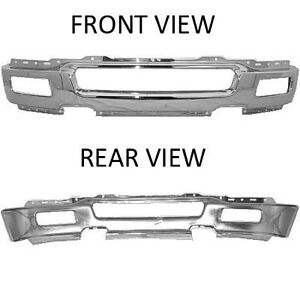 NEW 2004-2005 FORD F-150 CHROME FRONT BUMPERS