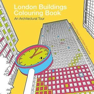 Image Is Loading London Buildings Colouring Book By Robin Farquhar And