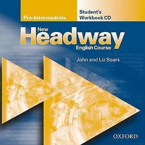 NEW HEADWAY Pre-Intermediate Student's Workbook CD @NEW & SEALED@