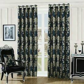 luxurious fully lined eyelet curtains
