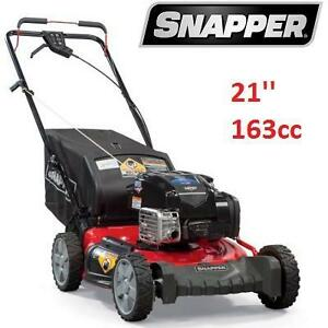NEW* SNAPPER 21'' GAS LAWN MOWER GAS POWERED 163CC SELF PROPELLED 114022344