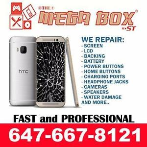 [ BEST REPAIR FIX SALE ] HTC M7, M8, M9, ONE X, 8S, 8X PHONE SCREEN, LCD, BATTERY, CHARGING PORT REPAIR ON SPOT !