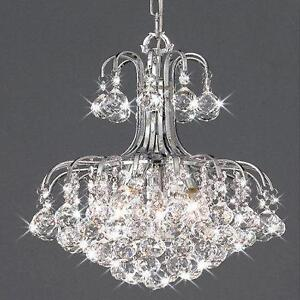 Crystal ceiling light lighting ebay crystal ball ceiling lights mozeypictures Choice Image