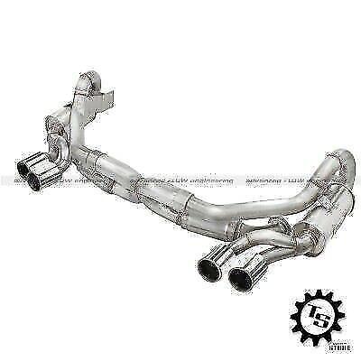 2013-2014 Porsche 911 C2S aFe Power Elite Polished Tips Dual Cat Back Exhaust