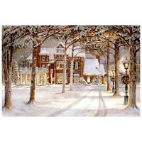 "Trisha Romance ""Silent Night"" Giclee Canvas unframed"