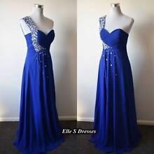 Dark blue one shoulder formal dresses Waterford Logan Area Preview