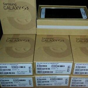 "Samsung Galaxy S5 - New &Unlocked with Box & Accessories-Buy from a Store with Warranty & Receipt@ 239.99 $ ""4167229406"