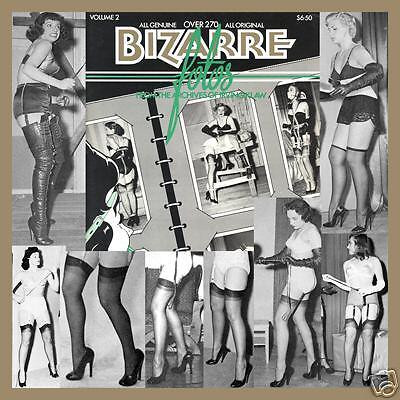 Bizarre Fotos V2 IRVING KLAW High Heels 270-pic Ebook on CD