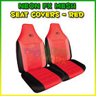 Mesh Red Car and Truck Seat Covers