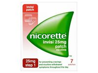 Nicorette invisi Patches and inhalors