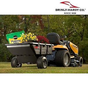 NEW* BRINLY HARDY TOW POLY CART PCT-101BH 188169946 TOW BEHIND 650 LB 10 CU.FT.  UTILITY