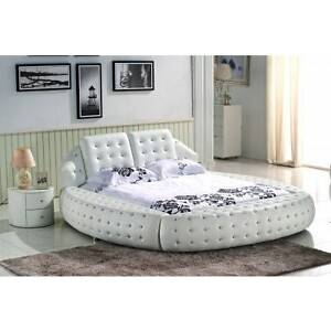 Brand new modern leather bed ELEGANTEE Hoppers Crossing Wyndham Area Preview
