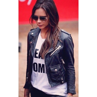 Victoria Beckham Women Real Leather Jacket