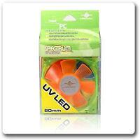 VANTEC SPECTRUM UV LED FAN 80MM - VENTILATEUR PC 80MM