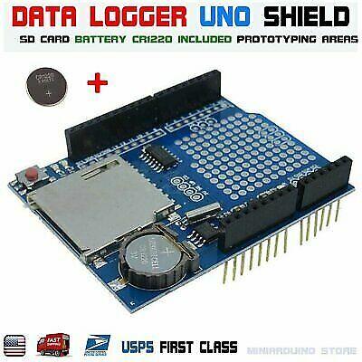 Recorder Data Logger Module Logging Shield XD-05 For Arduino UNO SD Card RTC