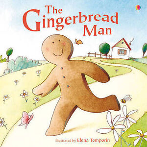 The-Gingerbread-Man-Usborne-Picture-Book-New-Paperback-Edition-R-R-P-4-99