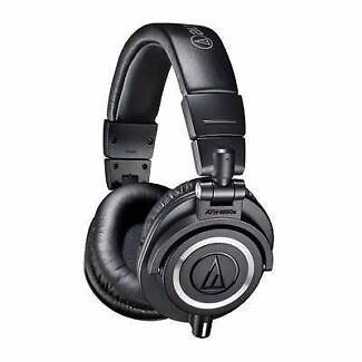 Audio Technica M50x Studio Headphones (Grey) Mudgeeraba Gold Coast South Preview