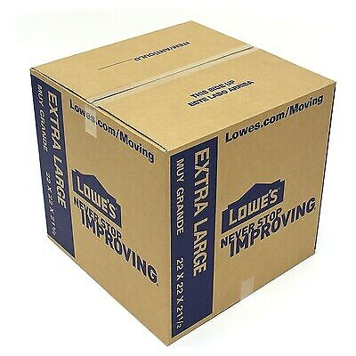 10 New Extra Large Xl Moving Storage Shipping Packing Postage Boxes 22x22x21.5